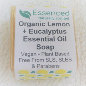 Organic Lemon and Eucalyptus Essential Oil Soap