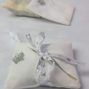 silver star lavender bag side
