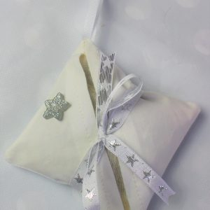 silver star lavender bag
