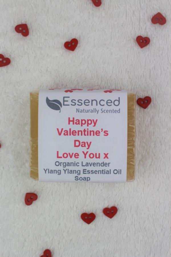 vegan valentines gift soap