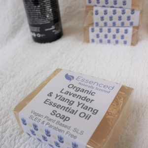 organic bar soap lavender and ylang ylang